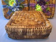 Balacbac Large Gift Basket-Lidded 13x13x4