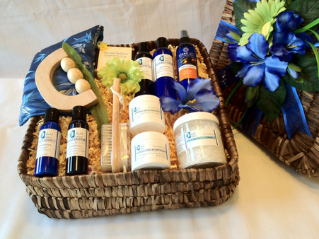 Special spa basket just for Him! The perfect way to relax and unwind.