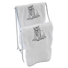 Yorkie Hand Towel
