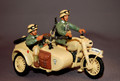 AK008  Motorcycle Combination & Crew by King & Country (Retired)
