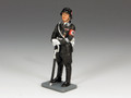 LAH143  Standing SS Officer with Sword by King & Country (Retired)