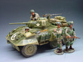 DD038  M8 Greyhound Armour Car by King & Country (Retired)