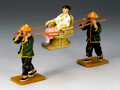 HK173  New Sedan Chair Set by King & Country (Retired)