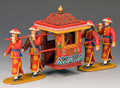 HK215  The Bridal Sedan Chair by King & Country