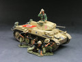 AK030  Panzer II Tank Set by King & Country (RETIRED)