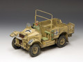 AK077  AK Captured Morris CS8 15cwt. Truck LE250 by King & Country (RETIRED)