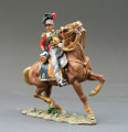 NA047  Mounted Black Watch Officer by King & Country (RETIRED)
