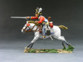 NA085  Scots Grey Charging by King & Country (RETIRED)