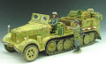 WS052  Prime Mover Halftrack Set by King & Country (RETIRED)