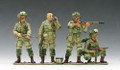 DD046  D-Day Paratrooper Set by King & Country (RETIRED)