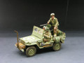 DD075  US Patrol Jeep by King & Country (RETIRED)