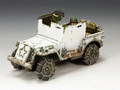 BBA050  US Armoured Jeep (Winter version) by King & Country