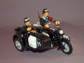 LAH011  Motorcycle with Sidecar by King & Country (Retired)