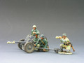 WS066  Anti Tank Gun  Set by King & Country (RETIRED)