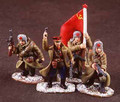 RA001  Four Figure Soviet Command Group by King and Country (Retired)