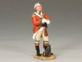 BR075  Royal Welch Fusilier Officer with Gloves by King & Country (RETIRED)