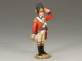 BR076  Royal Welch Fusilier Officer Saluting by King & Country (RETIRED)