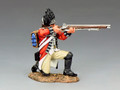 BR080  Royal Welch Fusilier Kneeling Firing by King & Country (RETIRED)