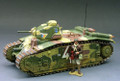 FoB009  Char BI bis French vehicle by King & Country (RETIRED)