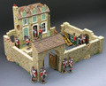 KCD11  NAPOLEONICS FARM HOUSE by King & Country (RETIRED)