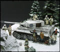 KCD13  WINTER TIGER DIORAMA by King & Country (RETIRED)