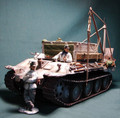 HB005a  Winter Bergepanther by Honour Bound (RETIRED)