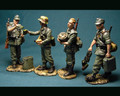 HB007b  German Infantry Wehrmacht Troops Food Line for German Field Kitchen Summer by Honour Bound (RETIRED)