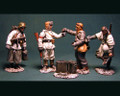 HB007a  German Infantry Wehrmacht Troops Food Line for German Field Kitchen Winter by Honour Bound (RETIRED)