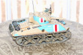 IWJ011AK  Sherman made (in Afrika Korps markings) by King & Country (RETIRED)