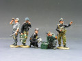 WS099  German Tank Crew by King & Country (RETIRED)