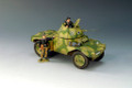 WS125  German Panhard Armoured Car by King & Country (RETIRED)