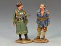 WS142  Cossack Feldgendarmerie with Prisoner by King & Country (RETIRED)