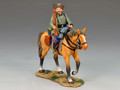 WS145  Mounted Cossack Holding Rifle Looking Right by King & Country (RETIRED)