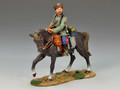 WS146  Mounted Cossack Holding Rifle Looking Left by King & Country (RETIRED)