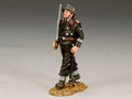 WS162  Waffen SS Officer with Sword by King & Country (RETIRED)