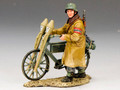 WS191  Volksturm Walking with Bicycle by King & Country (RETIRED)