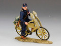 WS192  Hitlerjugend with Bicycle by King & Country (RETIRED)