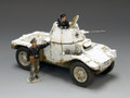 WS195  German Panhard Armoured Car (Winter Version) LE200 by King & Country (RETIRED)