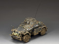 WS209  Sd Kfz 222 Armoured Car Early War (Gray) by King & Country (RETIRED)