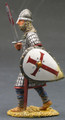 MK002  Foot Knight with Sword & Shield by King & Country (RETIRED)