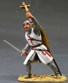 MK003  Foot Knight with Sword & Crucifix by King & Country (RETIRED)
