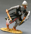 MK015  Charging Knight with Axe & Shield by King and Country (RETIRED)