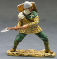 MK020  Man-at-arms Fighting with Axe (by King and Country RETIRED)
