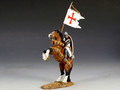 MK066  Mounted Templar with Banner by King and Country (RETIRED)