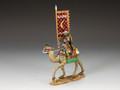 MK081  Mtd Camel Flagbearer by King and Country (RETIRED)