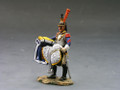 NA122  Standing Cuirassier with Saddle by King and Country (RETIRED)