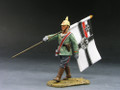 FW007  Officer w/Flag by King and Country (RETIRED)