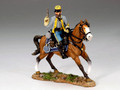 CW040  Mounted Confederate officer w/Pistol by King and Country (RETIRED)