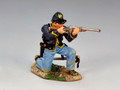 CW066  Trooper Kneeling Firing Carbine by King and Country (RETIRED)