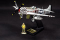 AIR037  P-51 (Big Beautiful Doll) 1/32 scale LE5 by King and Country (RETIRED)